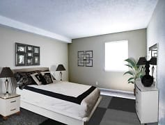 Bedroom, The Bluffs over Cumberland, 0