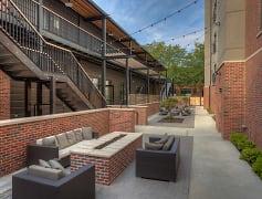 Blackstone Station Courtyard!