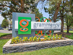 Community Signage, Grammercy Apartment Homes, 0