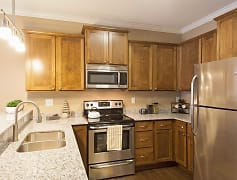 Kitchen, The Flats at Cedar Grove Apartments, 0
