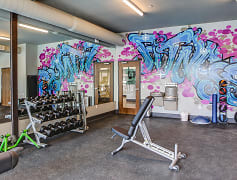 Fitness Weight Room, ZAG Apartments, 0