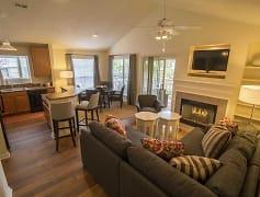 Living Room, Crescent Arbors Apartment Homes, LLC, 0