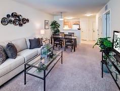 Living Room, Heritage Village At Oakhurst Apartments, 0