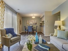 Living Room, Spring Valley Apartments, 0