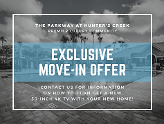 Contact us for information on how you can get a new 50-inch 4K TV with your new home! *Restrictions apply; contact sales team for qualification details.