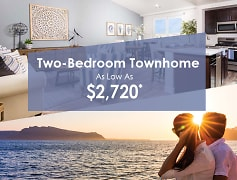 Two-Bedroom Townhome As Low As $2720*