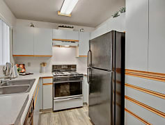 Galley Kitchen with Tons of Storage