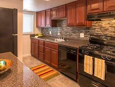 Kitchen, University Apartments, 0