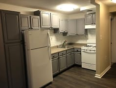 Kitchen, MLK Apartments, 0