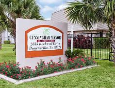 Community Signage, Cunningham Manor Apts, 0