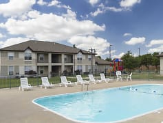 Pool, Chesterfield Village Apartments, 0