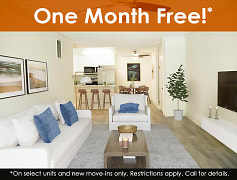 One Month Free!*