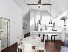 Dining Room, Cambridge Place Luxury Townhomes, 0