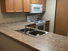 Kitchen, Legacy South Apartments, 0