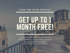 Get up to one month free!