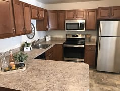 Kitchen, Olmsted Falls Senior Apartments, 0