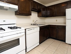 Kitchen at Columbus Park Apartments in Bedford Heights, Ohio