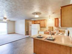 Kitchen, Devon Apartments, 0