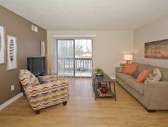 Living Room, Oakmont Flats, 0
