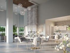 Exquisite resident clubroom
