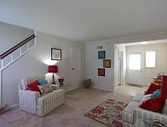 Living Room, Hilliard Road Apartments, 0