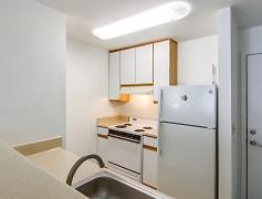Open kitchen with plenty of light