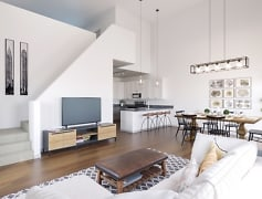 Living Room, Parkview Apartments, 0