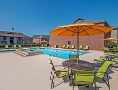 Pool, Greenleaf Apartments, 0