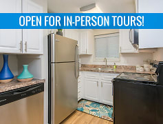 You'll enjoy our newly updated kitchens featuring a built-in pantry are and a dishwasher. We are excited to offer in-person tours while following social distancing and we encourage all visitors to wear a face covering.