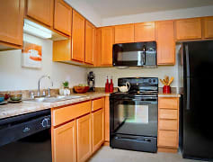 Amazing New Kitchens with all New Black Appliances!