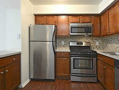 Kitchen, Twelve Trees Apartments And Townhomes, 0
