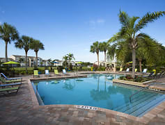Resort-style pool with outdoor grilling area and gazebo!