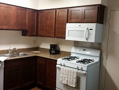 Kitchen, Oak Hill Apartments, 0