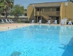 The Plaza Apartments Pool Area