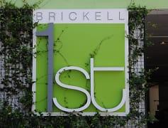 Community Signage, Brickell 1st Apartments, 0