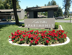 Community Signage, Lake Villa Apartments, 0