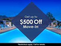 Get up to $500 off move-in*