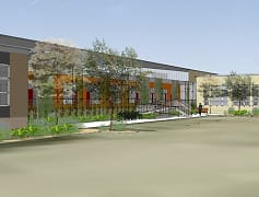 Rendering, South Side Living and Maker Spaces, 0