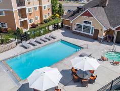 Pool, Quail Springs Apartments, 0