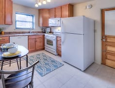 Kitchen, Homestead Apartments, 0