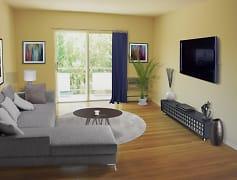 Wood Flooring in Renovated Apartment Homes at Adams Village!