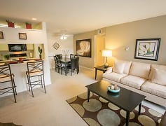 Living Room, The Landings At The Preserve Apartments, 0