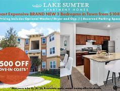 Community Signage, Lake Sumter Apartments, 0