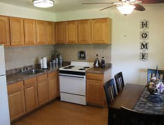 Kitchen, Woodland Springs Apartments, 0