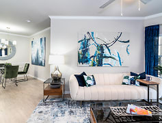 Spacious Living Room - Lucerne Apartment