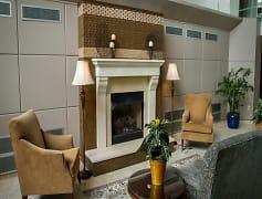 Living Room, Atrium Apartments, 0