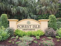 Community Signage, Forest Isle Apartments, 0