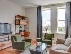 Living Room, 1188 Lofts, 0