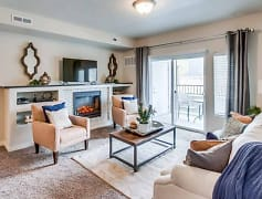 Living Room, The Kensington Apartments at North Pointe, 0