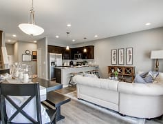 Living Room, Baldwin Square Townhomes, 0